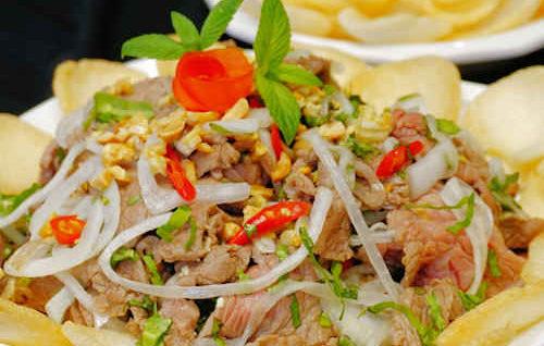 Tamarind Beef Salad (Gỏi Bò Tái Me)
