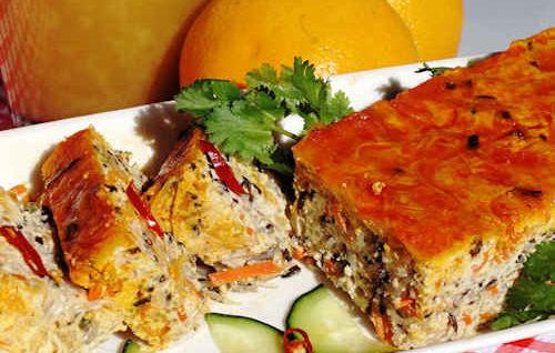 Vegetarian Steam Meatloaf (Chả Trứng Chay)