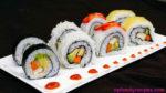 Vegan Sushi Rolls Recipe (Sushi Chay)