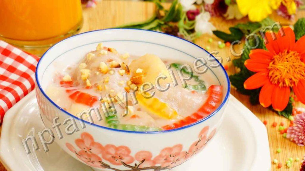 Chè Chuối Chưng - NPFamily Recipes
